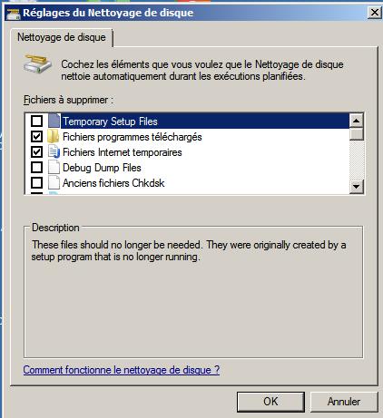 Diminuer la taille du dossier Windows #2