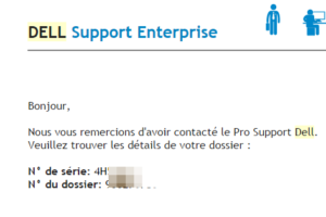 dell support email