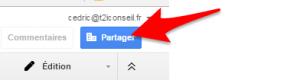 google doc partage